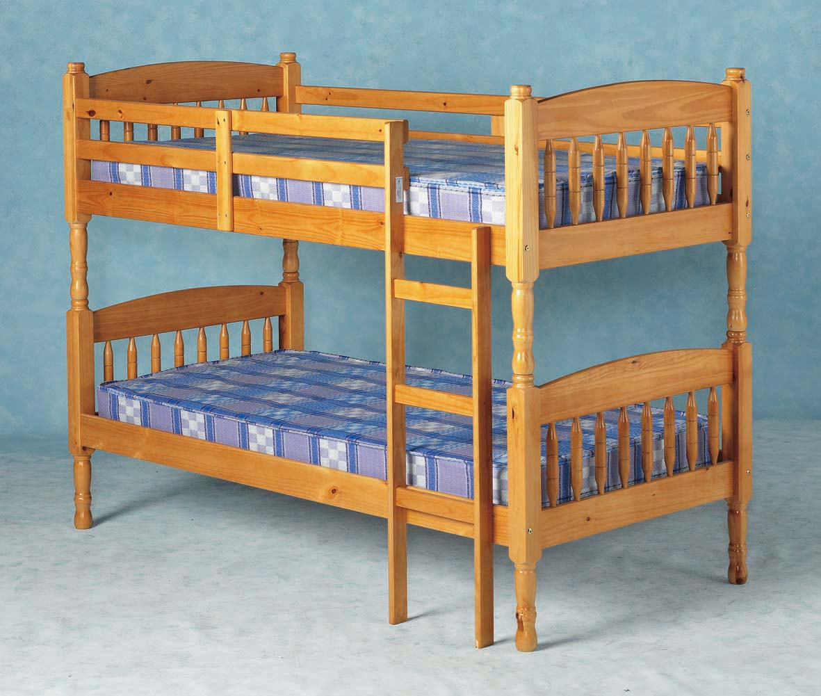 Honey Pine Bunk Bed