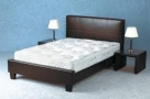Superior Faux Leather Bed