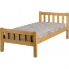 Single Classic Pine Bed